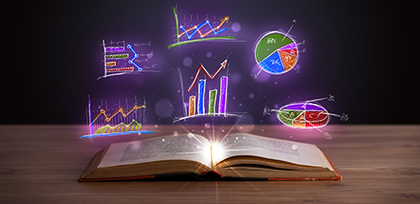 book wiht data